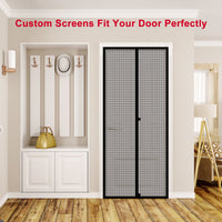 Fowong Custom Magnetic Screen Door -Large