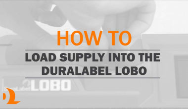 How-to: Loading Supply in DuraLabel Bronco