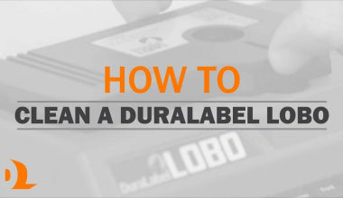 How-to: Cleaning DuraLabel Bronco