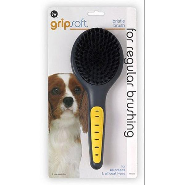 JW GripSoft Bristle Brush by JW