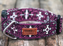 Load image into Gallery viewer, Goober Collar Aztec Purple