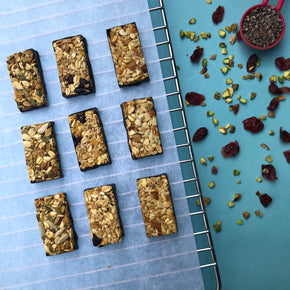 Baked in Organic Jaggery Granola Bars