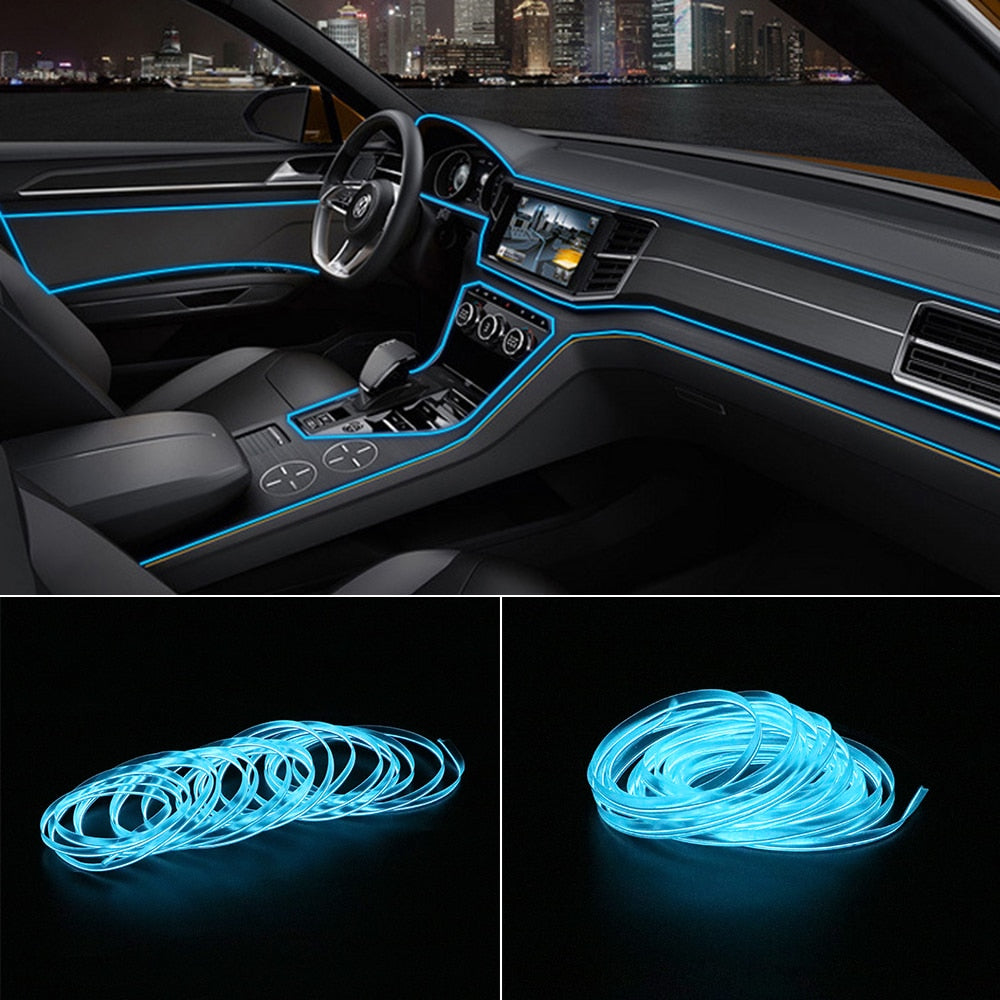 LumiLight™ Car LED Strip | De perfecte auto interieur transformer!