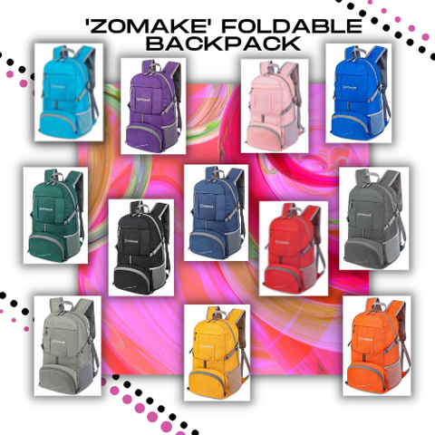 Compact Foldable Packable Backpack for Men Women