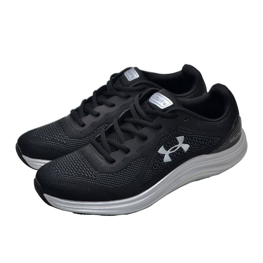 Under Armour Black silver - modernshoestore02