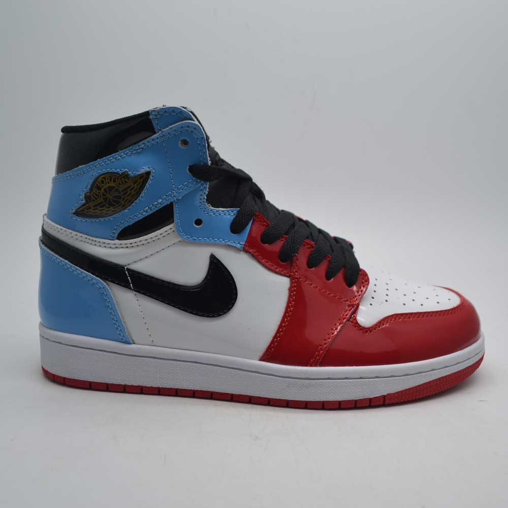 Air Jordan 1 White Blue Red