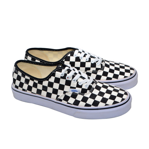 Vans Checkers Black and White