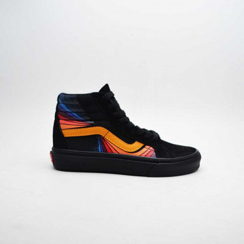 Vans Black Orange High