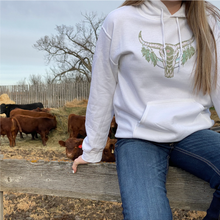 Load image into Gallery viewer, Long Horn Hoodie Unisex