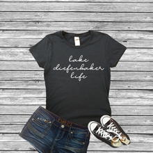Load image into Gallery viewer, Lake Diefenbaker Life ladies tee