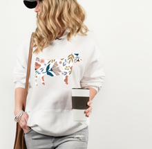 Load image into Gallery viewer, Floral Heifer hoodie