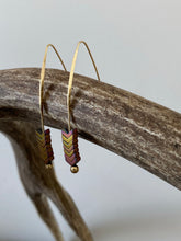 Load image into Gallery viewer, Prairie Wheat Earrings