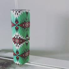 Load image into Gallery viewer, Western Aztec pattern tumbler