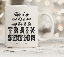 Load image into Gallery viewer, Train Station mug