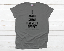 Load image into Gallery viewer, Plant Spray Harvest Repeat Unisex Tee
