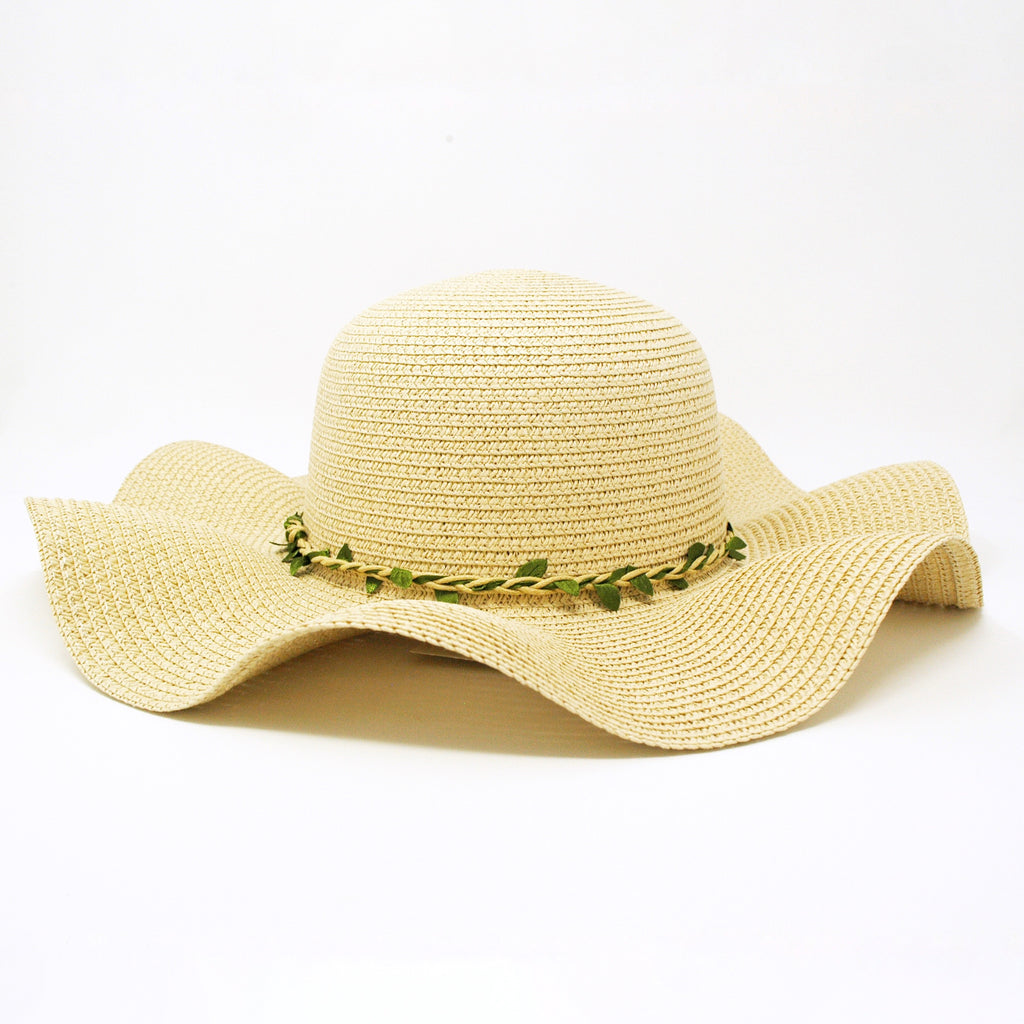 Green Vine Floppy Hat