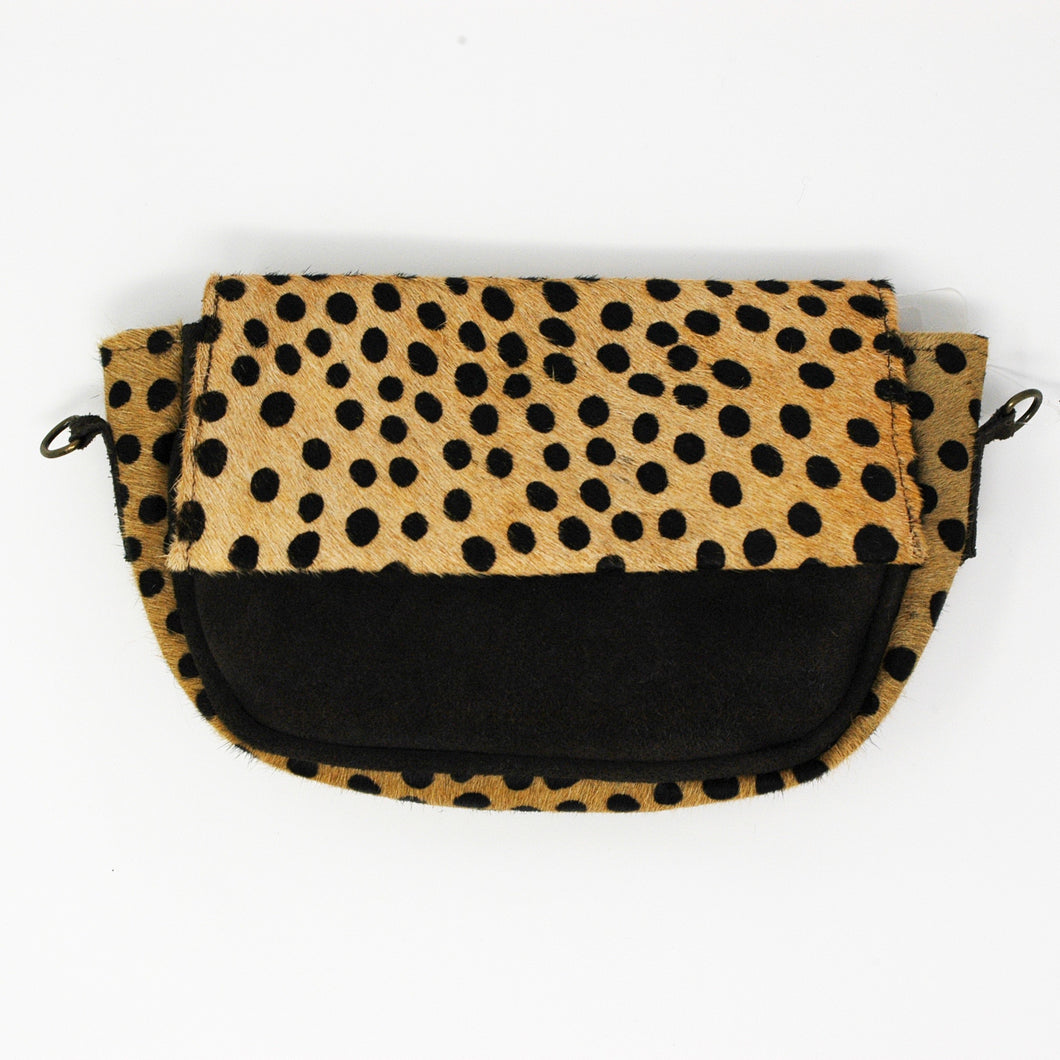 Spotted Cheetah Clutch