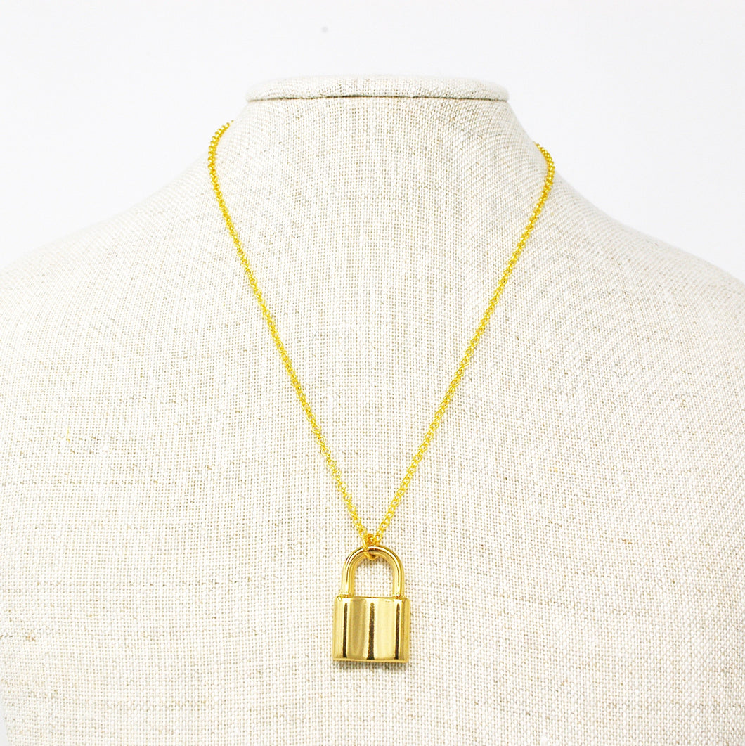 Lock Down Necklace