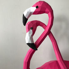 Lade das Bild in den Galerie-Viewer, Paper Model - Flamingo