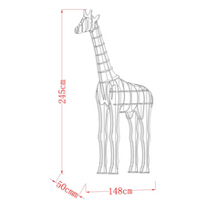 Load image into Gallery viewer, Giraffe Decorations Shelf