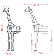 Load image into Gallery viewer, Inwall Giraffe Decoration Shelf