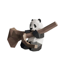 Load image into Gallery viewer, Paper Model - Panda