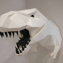 Load image into Gallery viewer, Paper Model - Tyrannosaurus