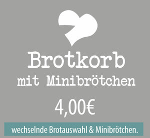 Kleiner Brotkorb