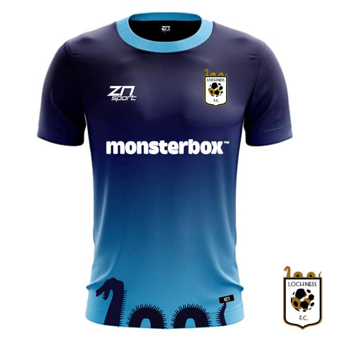 Loch Ness FC Official 20/21 Third Shirt (Kids)