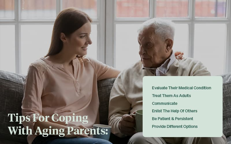 tips for coping with stubborn aging parents