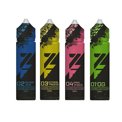 Zap! Juice Z Fuel 0mg 50ml Shortfill (Caffeine Infused E-liquid & Free ZAP 18mg Nic Salt) - Vapeng