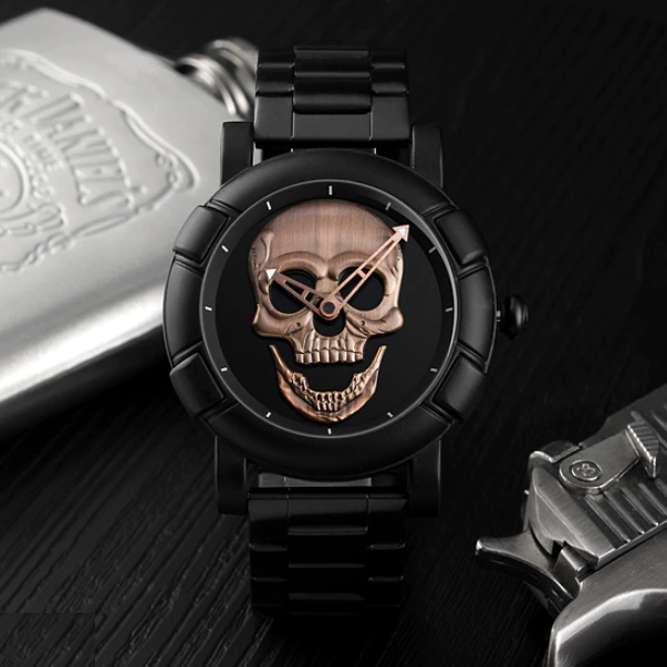 Manner Skull Watch