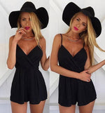 Load image into Gallery viewer, Women's Sexy Sleeveless Off Shoulder Romper - fashionenvy