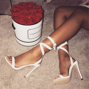Classic Ankle Strap Party High Heels