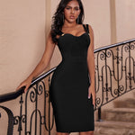 Load image into Gallery viewer, Spaghetti Strap Evening Party Dress
