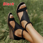 Load image into Gallery viewer, Women's Open Toe T-Strap Sandals - fashionenvy