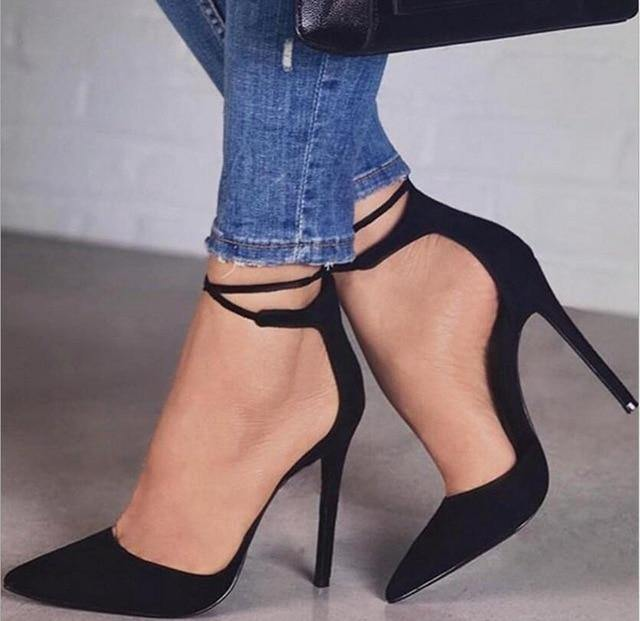 "Sexy ""Comfy And Casual"" Pointed Toe High Heels - fashionenvy"