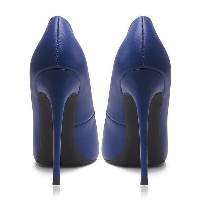 Pointed Toe Stiletto Pumps - fashionenvy