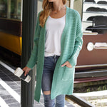 Load image into Gallery viewer, Loose Knitted Cardigan Sweater