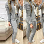 Load image into Gallery viewer, Women's Long Sleeve Winter Sport Suit - fashionenvy
