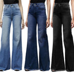 Load image into Gallery viewer, High Waist Vintage Wide Leg Jeans - fashionenvy