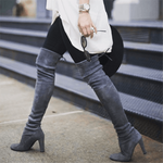 Load image into Gallery viewer, Sexy Over The Knee Pointed Toe Boots - fashionenvy
