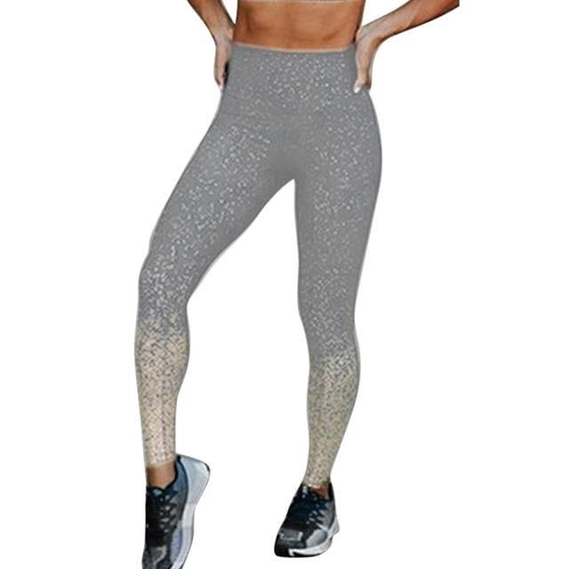 Women's Mesh Fitness Running Leggings - fashionenvy