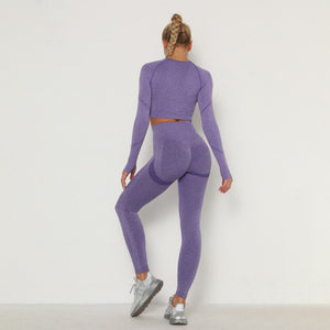 Two Piece Long Sleeve Sport Suit
