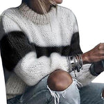 Load image into Gallery viewer, Women's Casual O Neck Loose Knitted Sweater - fashionenvy