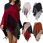 Load image into Gallery viewer, Winter Plaid Tassel Sweater