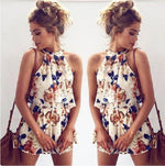 Load image into Gallery viewer, Women's Off The Shoulder Floral Print 2 Piece Set - fashionenvy
