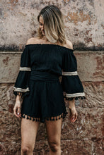 Load image into Gallery viewer, Never Fear Off Shoulder Playsuit