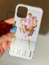 Load image into Gallery viewer, Fashion girl phone case