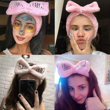 Load image into Gallery viewer, Makeup bow headband